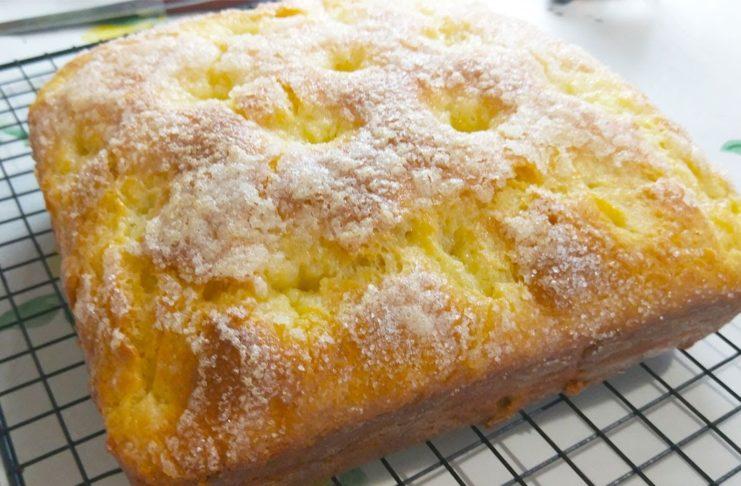Сливочный пирог с хрустящей корочкой и вкусным тестом