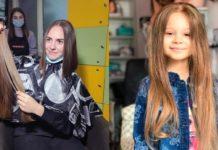Поліцейська віддала своє волосся онкохворій 5-річній дівчинці