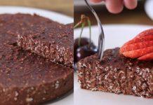 Шоколадний кекс без випічки