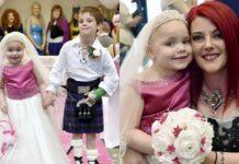 Дівчинка зі смертельною хворобою попросила батьків організувати їй казкове весілля