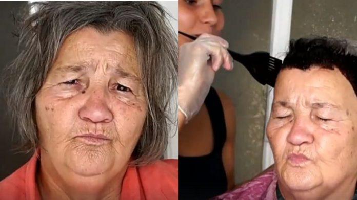 Звичайна бабуся схожа на голлівудську зірку