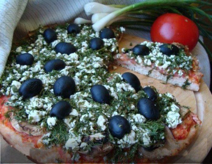 Диетическая пицца от Юлии Высоцкой