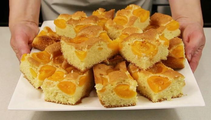 Рецепт шикарного повітряного тіста для фруктових пирогів