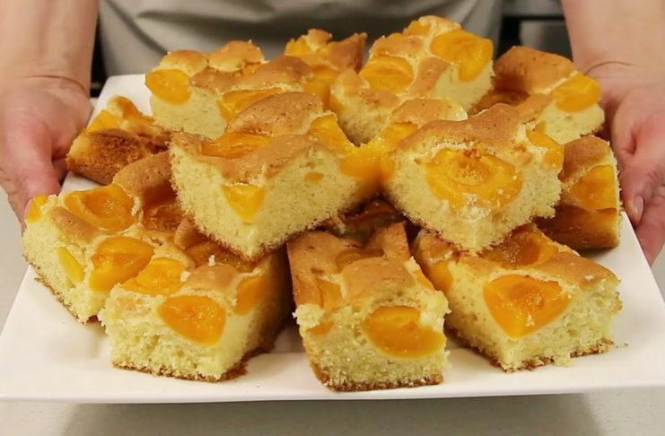 Рецепт шикарного воздушного теста для фруктовых пирогов
