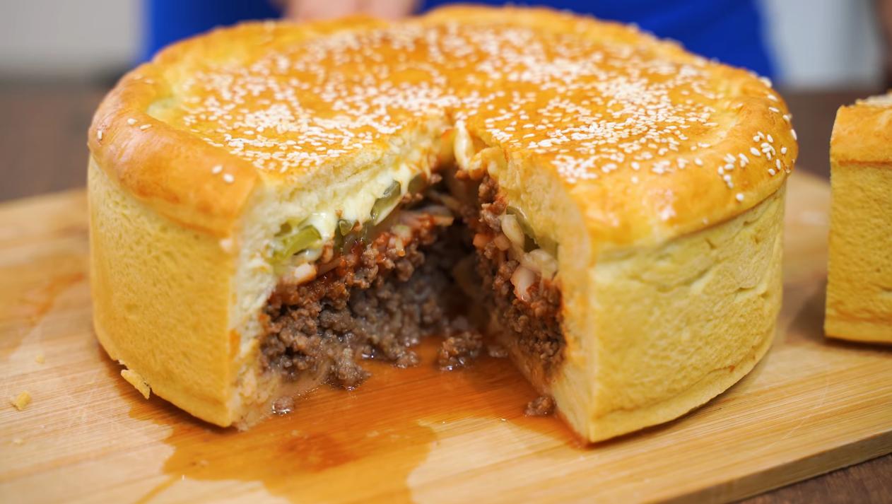 Пирог с сочной начинкой