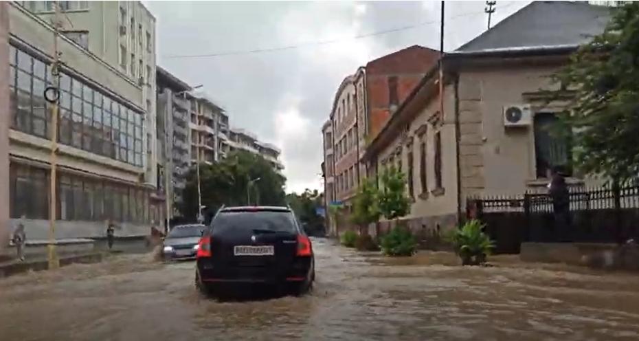 Вулиця Собранецька в Ужгороді. 27.07.2020