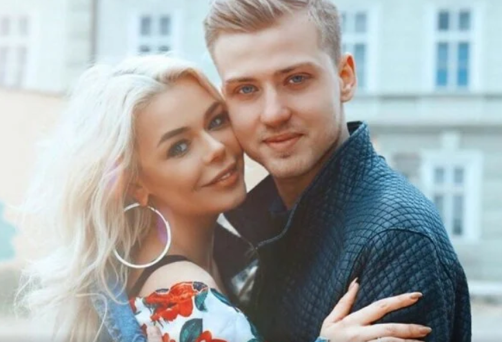 Алина Гросу с мужем