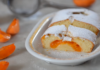 Доступный заливной пирог с абрикосами к чаю