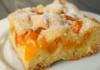 Пирог с абрикосами: рецепт очень простого и быстрого теста