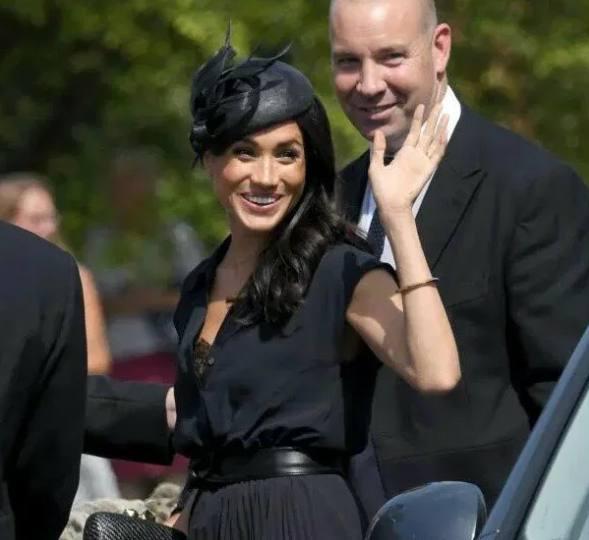Так герцогиня пришла на свадьбу