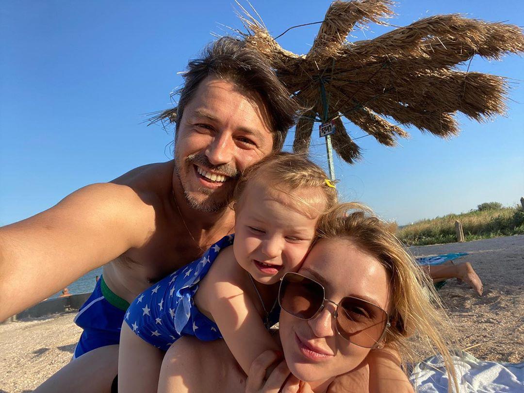 Сергій Притула з сім'єю на Мальдівах
