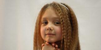 """Катя Старшова під час зйомок серіалу """"Татусеві дочки"""""""
