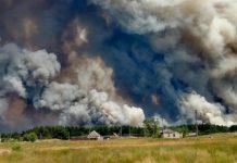 Пожежа на Луганщині охопила уже кілька районів