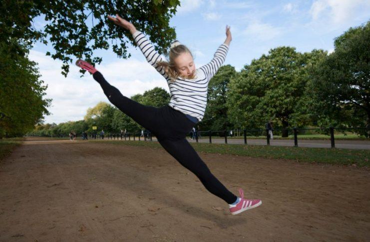 Балерина с протезом