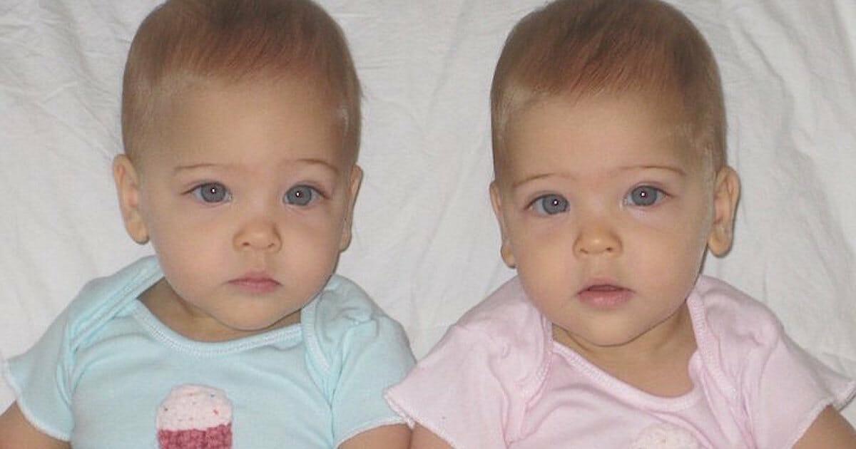 Красивые близнецы