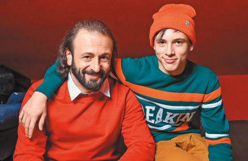 Илья Авербух с сыном