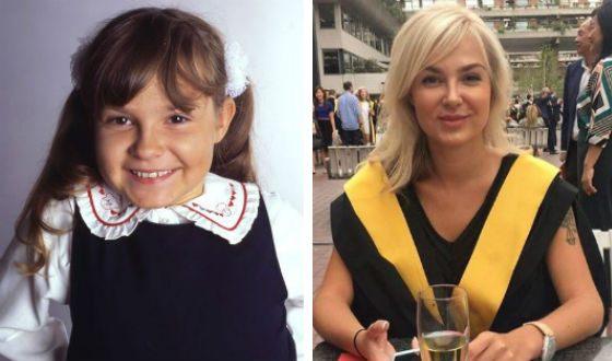Ирина Андреева в сериале и сейчас