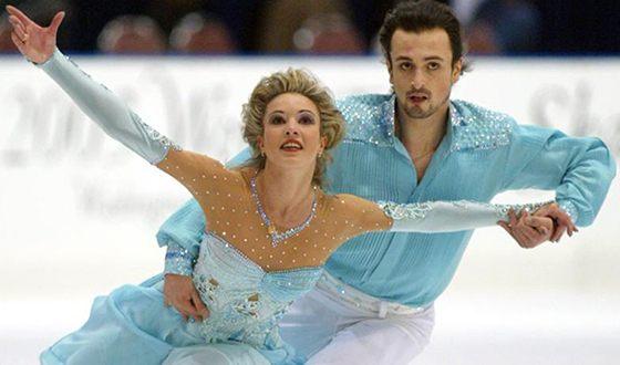 Илья Авербух на льду