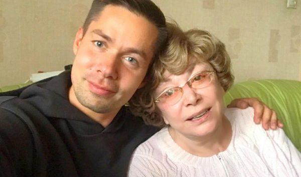 Стас Пьеха со своею бабушкой Эдитой Пьехой
