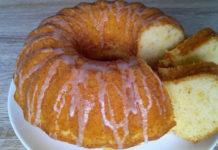 Пишний кекс з лимонною цедрою за 35 хвилин