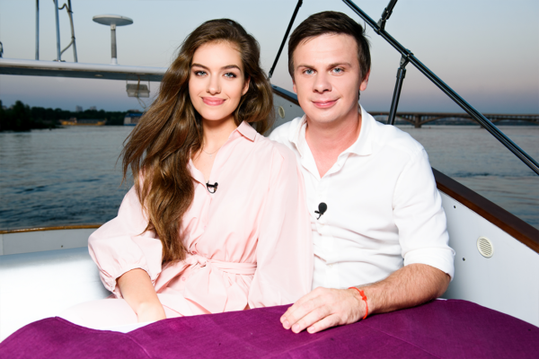 Дмитро Комаров та Олександра Кучеренко