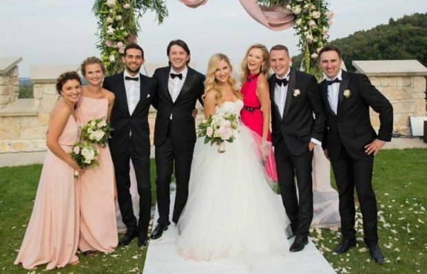 Весілля Сергія Притули з Катериною Сопельник