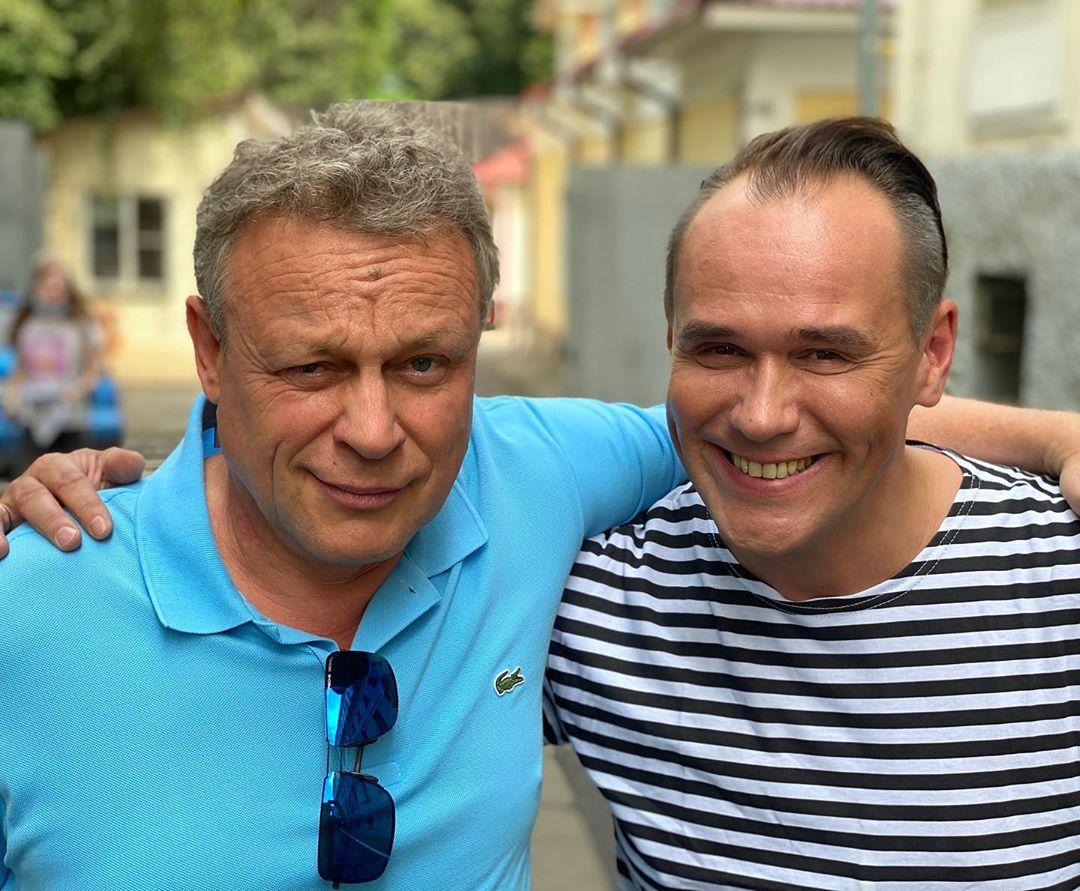 Сергій Жигунов і Максим Аверін