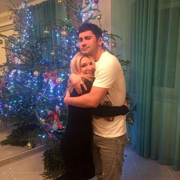 Дан Балан с мамой Людмилой