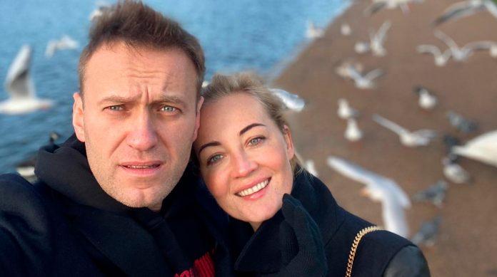 Олексій і Юлія Навальні