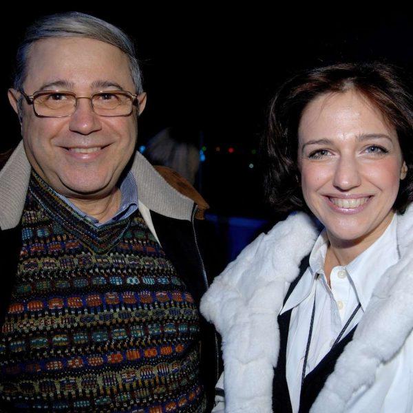 Евгений Ваганович со своей дочерью Викториной