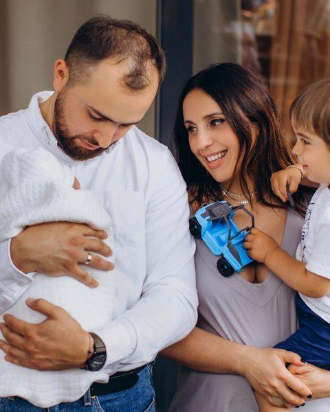 Джамала с мужем и сыновьями