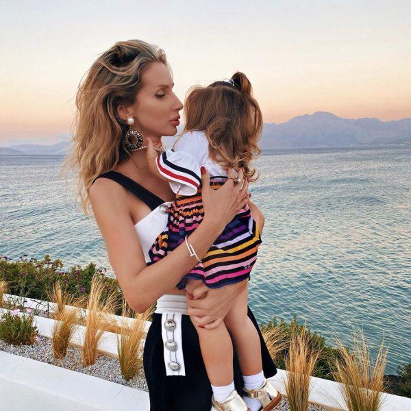 Светлана Лобода с подросшей дочерью Тильдой