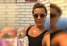 Сніжана Єгорова з немовлям на руках звертається до президента
