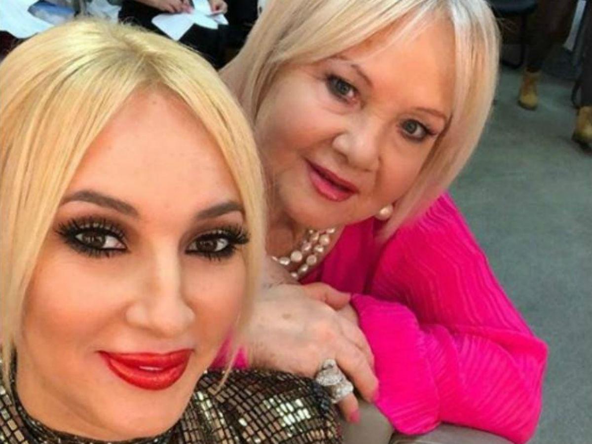 Лера Кудрявцева з мамою