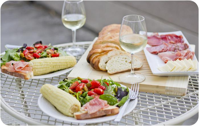 Обед - святое дело, только много овощей в первую очередь
