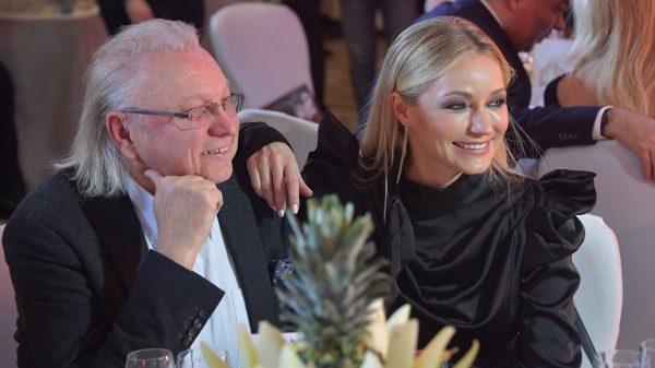 Інна Малікова з отцем Юрієм