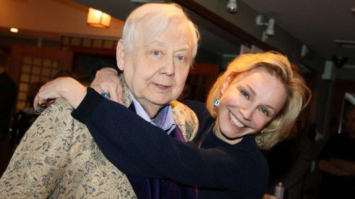 Олег Табаков і Марина Зудіна