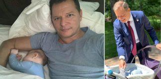 Олег Ляшко с подросшим сыном