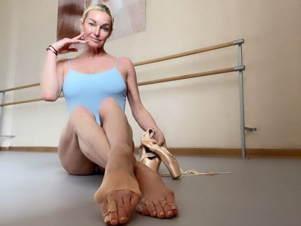 У балерины 41 размер ноги