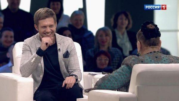 Борис Корчевников в эфире телешоу «Судьба человека»