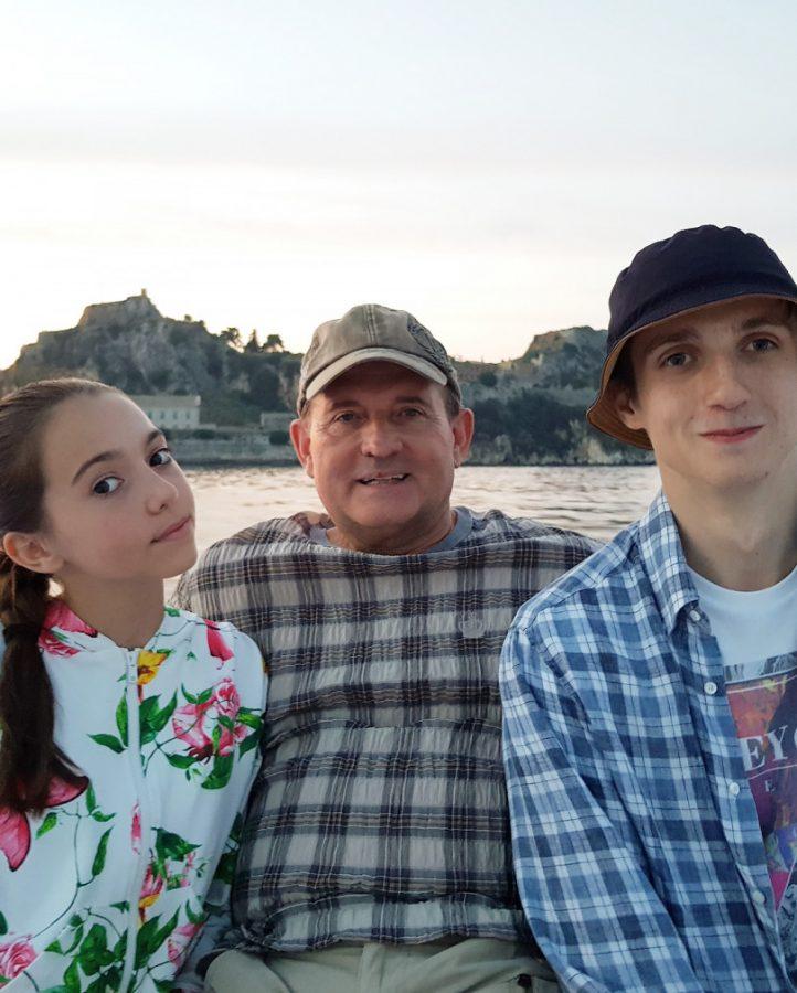 Віктор Медведчук з дітьми на відпочинку