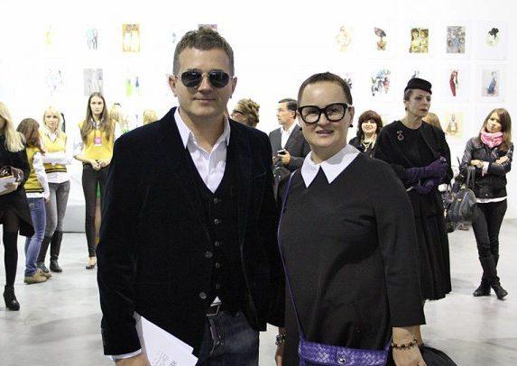 Юрий Горбунов с первой женой Людмилой