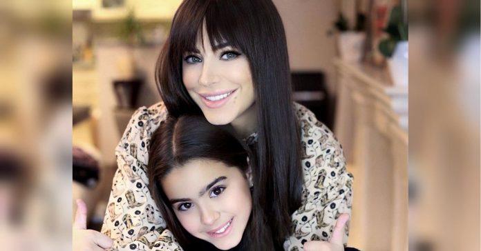 Ані Лорак і її дочка Софія