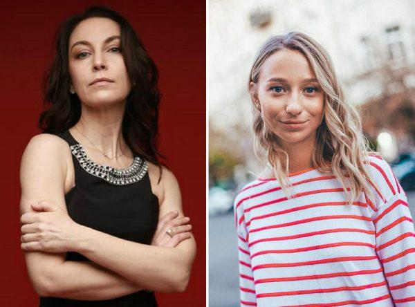 Катерина Репяхова і Лариса Созаева