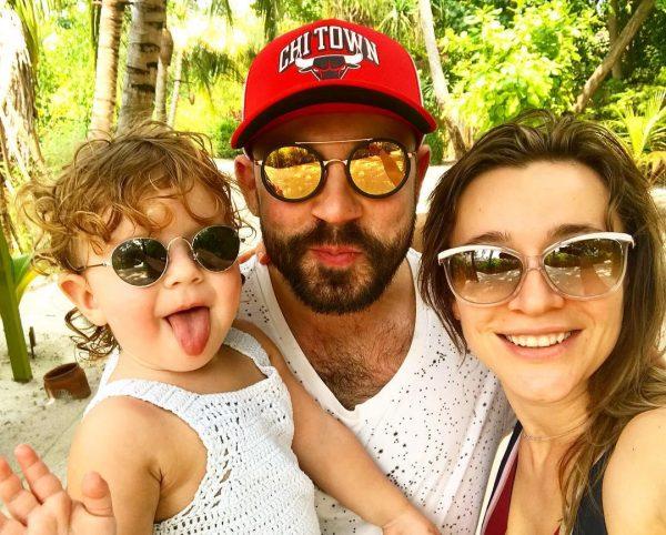 Андрій Бедняков і його сім'я