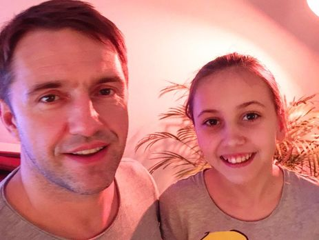Дочка Володимира Вдовиченкова і її зоряний тато