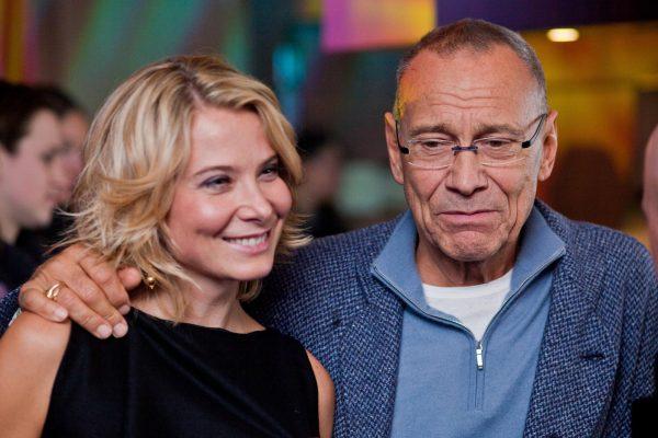 Юлия Высоцкая и ее супруг Андрей Кончаловский