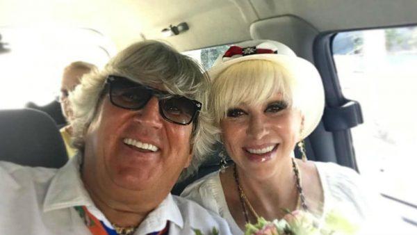 Валентина с новоиспеченным мужем Юрием Фирсовым