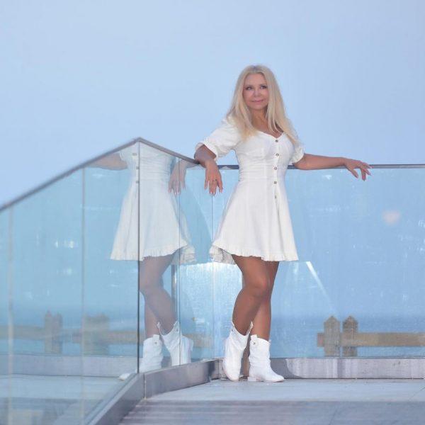 Людмила Балан в свои 62 выглядит превосходно