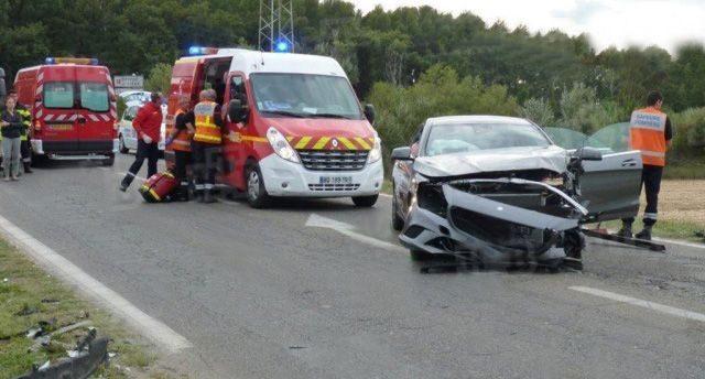 Место аварии авто Кончаловских